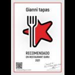 Premio 2021 - guru restaurant